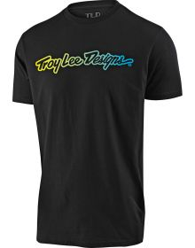 Troy Lee Designs Signature Youth T-Shirt Black