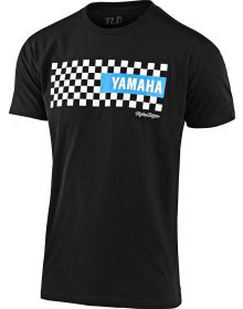 Troy Lee Designs Yamaha Checkers Youth T-shirt Black