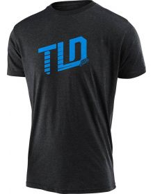 Troy Lee Designs Trackside Youth T-shirt Heather Charcoal