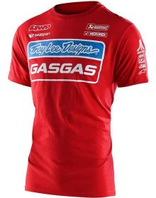 Troy Lee Designs Gas Gas Team Youth T-shirt Red