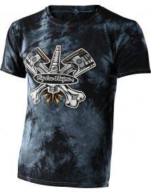 Troy Lee Designs Pistonbone Youth T-shirt Black Crystal Wash