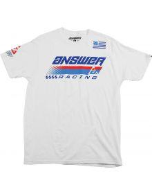 Answer Korza Youth T-Shirt White