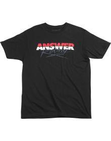 Answer Pro Glow Youth T-Shirt Black