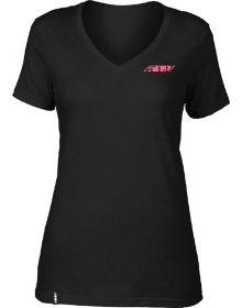 509 Coral Dusk Womens T-shirt Black