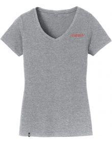 509 Turbo Heart Womens T-shirt Charcoal Gray