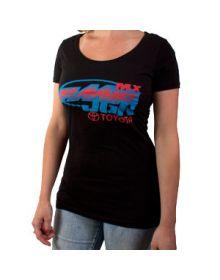 FMF JGR Alliance Womens T-Shirt Black