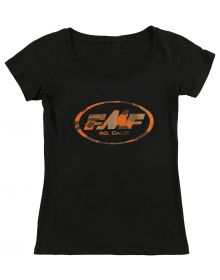 FMF Dynasty Womens Scoop T-Shirt Black