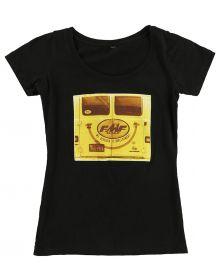 FMF Vantastic Womens Scoop T-Shirt Black