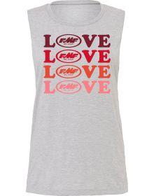 FMF True Love Womens Tank Heather Grey