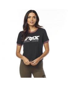 Fox Racing Race Team Womens T-Shirt Black