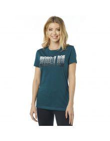Fox Racing Dragway Crew Womens T-Shirt Jade