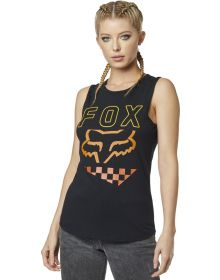 Fox Racing Richter Womens Tank Top Black