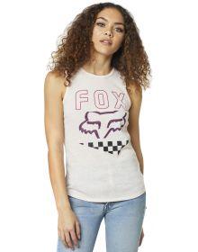 Fox Racing Richter Womens Tank Top Light Pink
