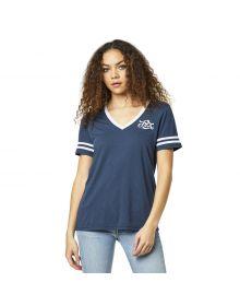Fox Racing Heartbreaker Womens T-shirt Navy