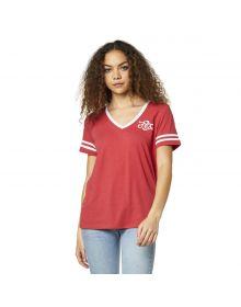 Fox Racing Heartbreaker Womens T-shirt Rio Red