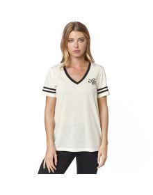 Fox Racing Heartbreaker Womens T-shirt Bone