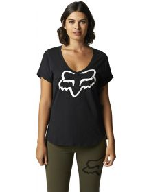 Fox Racing Boundary Womens T-shirt Black