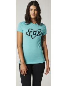 Fox Racing Division Tech Womens T-shirt Teal