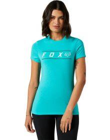 Fox Racing Pinnacle Womens T-shirt Teal