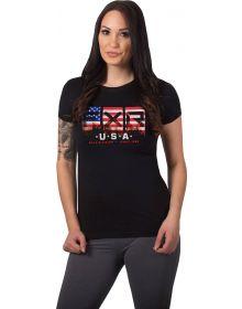 FXR International Race Womens T-Shirt USA