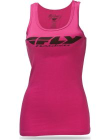 Fly Racing Corp Womens Tank Top Pink