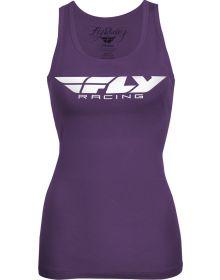Fly Racing Corp Womens Tank Purple