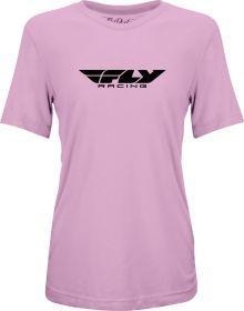 Fly Racing Origin Corporate Womens T-Shirt Dark Lilac
