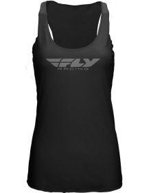 Fly Racing Corporate Womens Tank Black