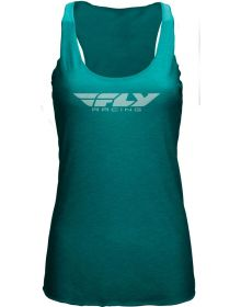Fly Racing Corporate Womens Tank Teal