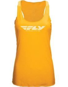 Fly Racing Corporate Womens Tank Yellow