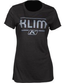 Klim Kute Corp Womens T-Shirt Black/Asphalt