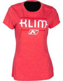 Klim Kute Corp Womens T-Shirt Red Frost/Chili Pepper