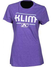 Klim Kute Corp Womens T-Shirt Purple/Monument