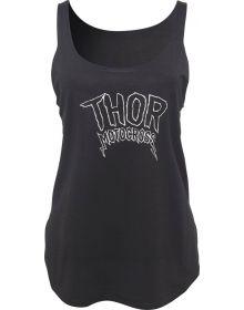 Thor Rocker Womens Tank Black