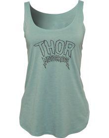 Thor Rocker Womens Tank Stonewash Green