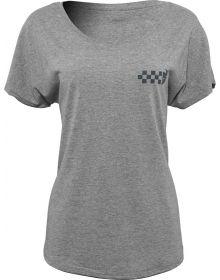 Thor Checkers Womens T-Shirt Heather Gray