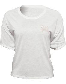 Thor Metal Womens T-Shirt Heather White