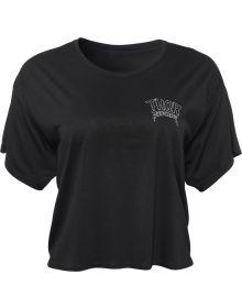 Thor Metal Womens T-Shirt Heather Black