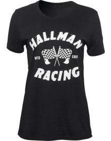 Thor Hallman Champ Womens T-Shirt Black