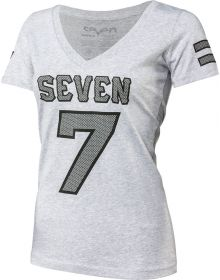 Seven Athletic Womens T-Shirt Grey Heather