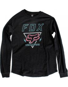 Fox Racing Consulted Womens Long Sleeve Shirt Black