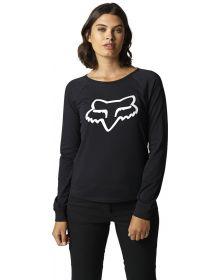Fox Racing Boundary Longsleeve Womens Shirt Black