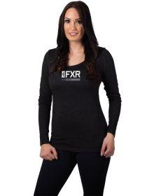 FXR Ice Pro Long Sleeve Womens Shirt Black/Grey
