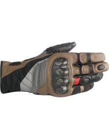 Alpinestars Belize Gloves Black/Brown/Red