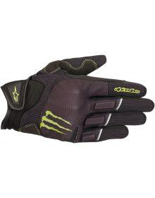 Alpinestars Monster Raid Gloves Black/Green