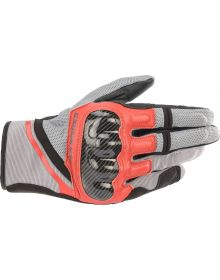 Alpinestars Chrom Glove Ash Gray/Black/Bright Red