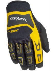 Cortech DX-3 Gloves Black/Yellow