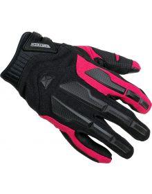 Cortech Aero-Tec Womens Gloves Rubine
