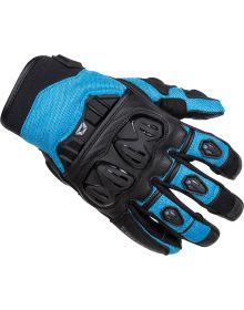 Cortech Hyper-Flo Air Womens Gloves Light Blue