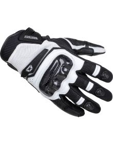Cortech Sonic-Flo Air Gloves Black/White